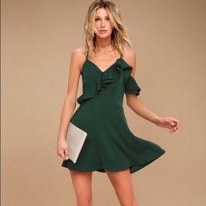 🌟NWT J.O.A Double Ruffle Fit & Flare Dress